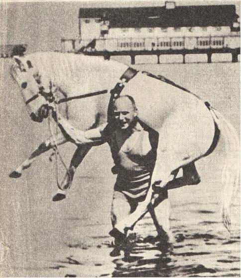 александр засс фото с конем